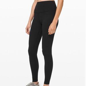 """NWT Lululemon Align Pant 28"""" Black Size 4"""